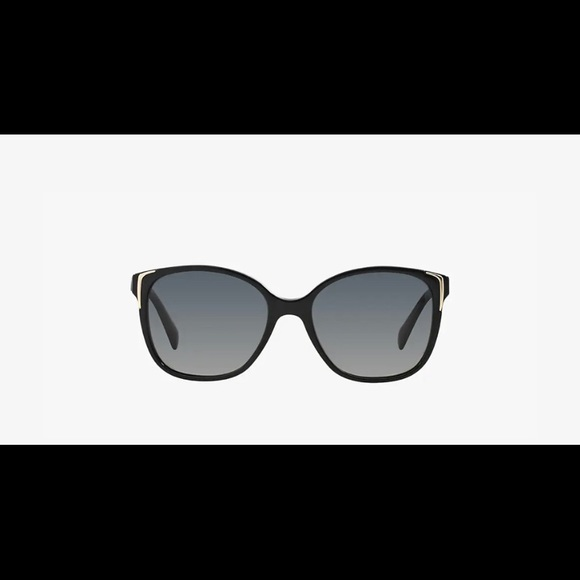 PRADA Black Sunglasses 55-17